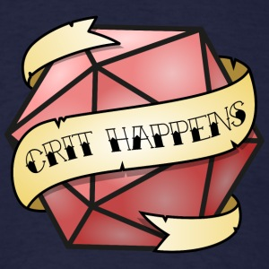 Crit Happens - Men's T-Shirt