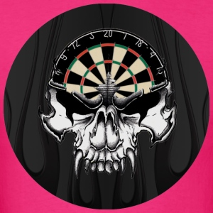 Darts Skull Dart Players Choice - Men's T-Shirt