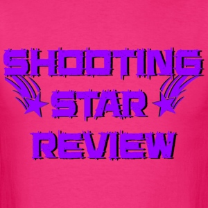 Shooting Star Review Purple Logo - Men's T-Shirt