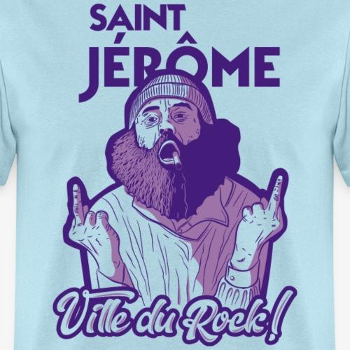 Saint-Jérôme, Ville du Rock ! - Men's T-Shirt