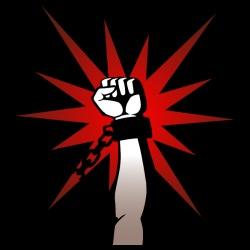 T-shirt Militant