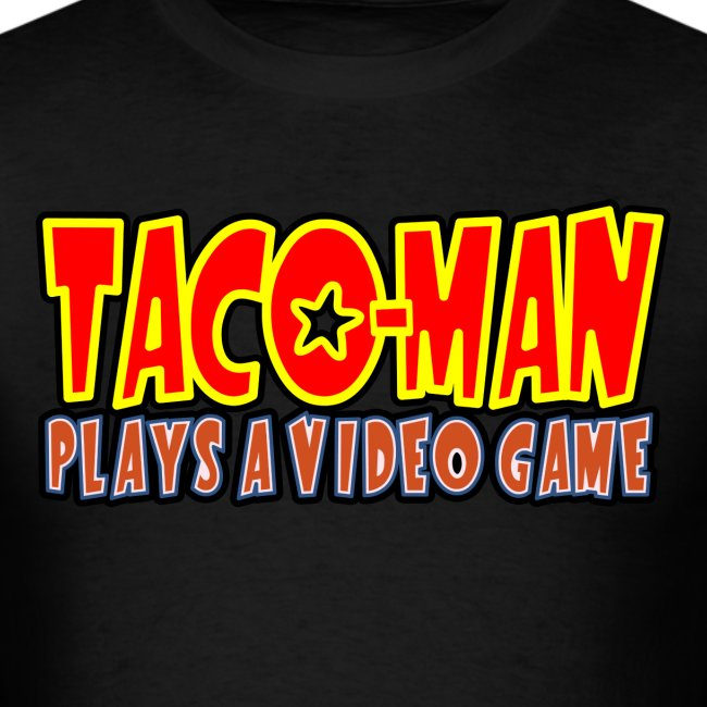 TACO MAN PLAYS LOGO