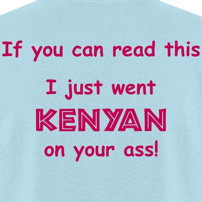 JUST WENT KENYAN
