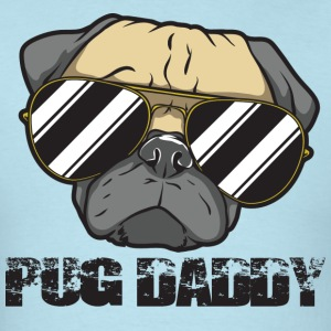Pug Daddy - Men's T-Shirt