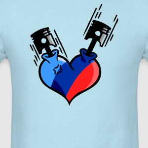 Heart Engine - Men's T-Shirt