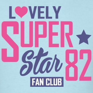 Lovely-super-star-fan-club - Men's T-Shirt
