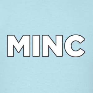 MincGreyOutline - Men's T-Shirt