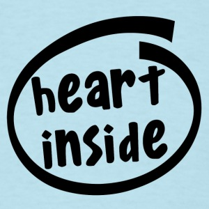 heart inside (1810A) - Men's T-Shirt