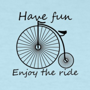 Enjoy the ride - Men's T-Shirt