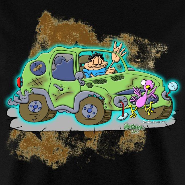 Ongher's UFO Crashed Car