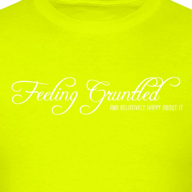 feelinggruntled