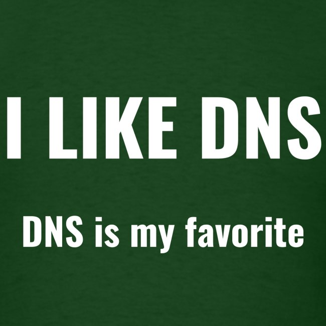 I Like DNS, DNS Is My Favorite