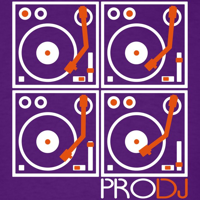I DJ PRO DJ 4 Turntables 2 color
