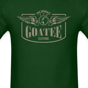 GOATEE-TWINSKULL - Men's T-Shirt
