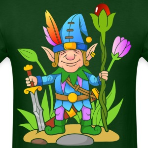 Elf-sword-tale-flowers-plants - Men's T-Shirt