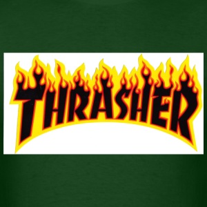 Thrasher flame - Men's T-Shirt