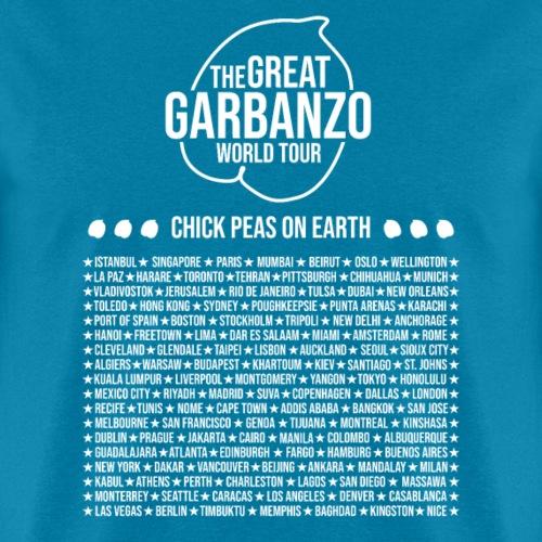 Great Garbanzo World Tour w - Men's T-Shirt