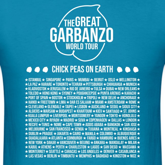 Great Garbanzo World Tour w