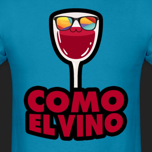 Como el vino - Men's T-Shirt