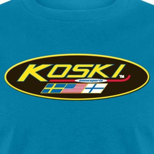 KOSKISNOWSPORTS LOGO - Men's T-Shirt