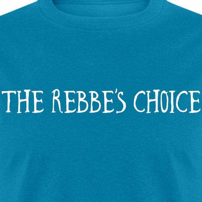 The rebbes choice - text