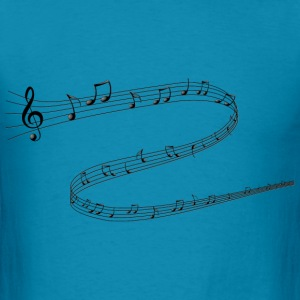 Musical Notes - Men's T-Shirt
