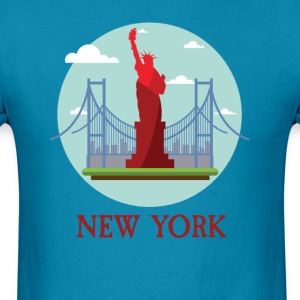 New York City NYC Manhattan Tourist Souvenir - Men's T-Shirt