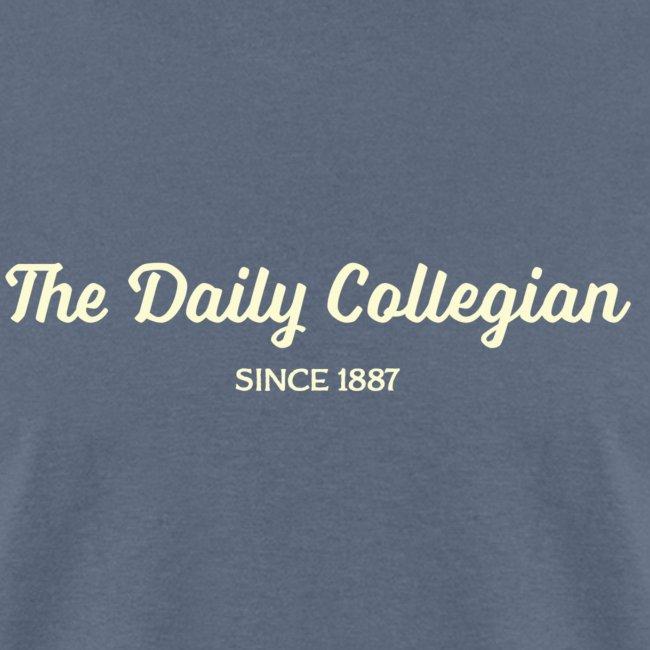 Cursive Writing Daily Collegian Sweatshirt