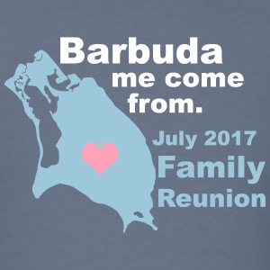 Barbuda Family Reunion - Men's T-Shirt