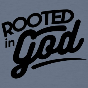 Rooted in God - Men's T-Shirt