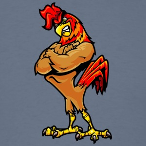 muscular_rooster - Men's T-Shirt