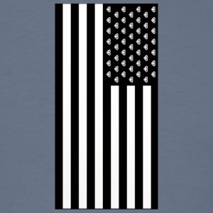 Diamond American Flag - Men's T-Shirt