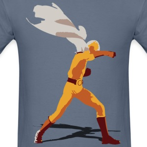 One Punch Saitama (color) - Men's T-Shirt