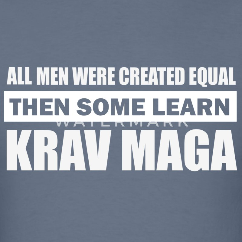 krav maga design - Men's T-Shirt
