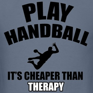 handball designs - Men's T-Shirt