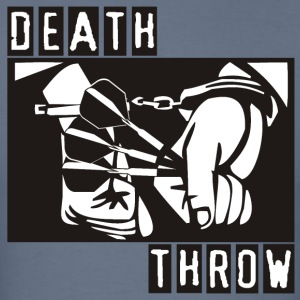 Death Throw Darts Shirt - Men's T-Shirt