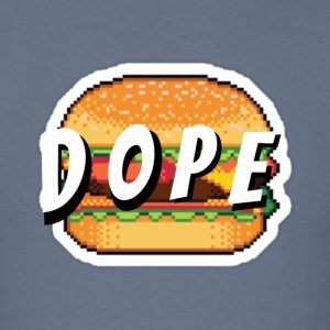 'Dope' Burger - Men's T-Shirt
