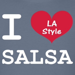 I Love Salsa LA Style - Men's T-Shirt