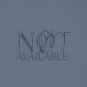 Not Available Dank Lines - Men's T-Shirt