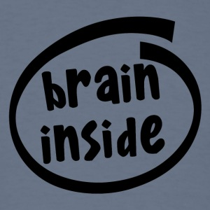 brain inside (1800A) - Men's T-Shirt