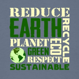 Earth Day Green Sustainable Tshirts - Men's T-Shirt
