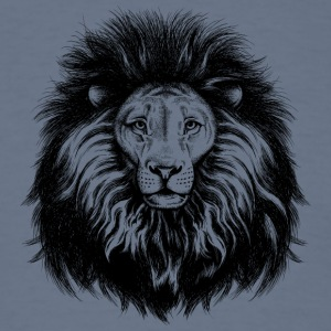 lion_with_big_hair - Men's T-Shirt