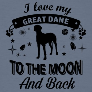 Love my Great Dane - Men's T-Shirt