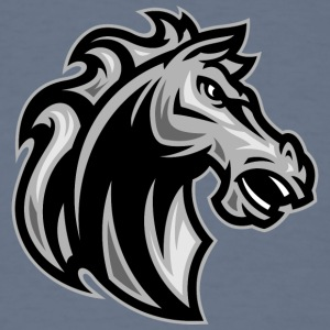 horse_gray - Men's T-Shirt