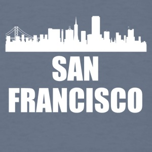San Francisco CA Skyline - Men's T-Shirt