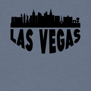 Las Vegas NV Cityscape Skyline - Men's T-Shirt
