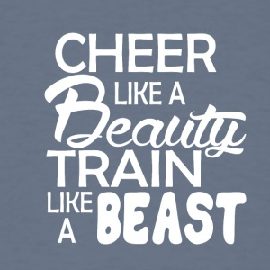 cheerleader Like a beauty - Men's T-Shirt