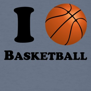 I Heart Basketball - Men's T-Shirt