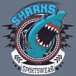 sharks sportwear - Men's T-Shirt
