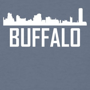 Buffalo New York City Skyline - Men's T-Shirt